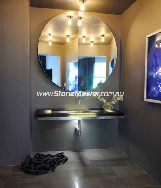 contemporar sandstone bathroom