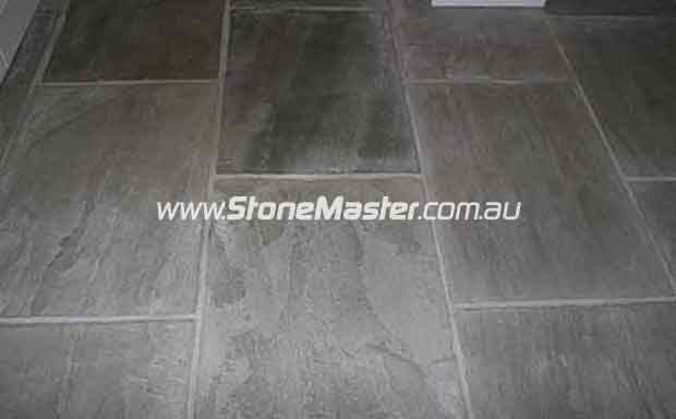 sandstone antique worn grey slabs sample Cleaning Adelaide