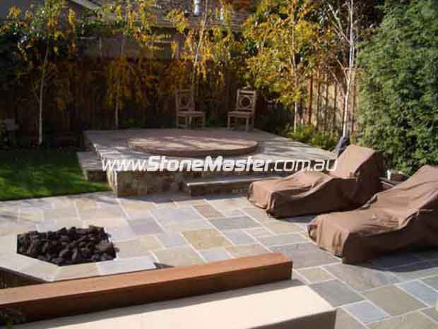 bluestone tiles_outdoor traditional landscape slate olor
