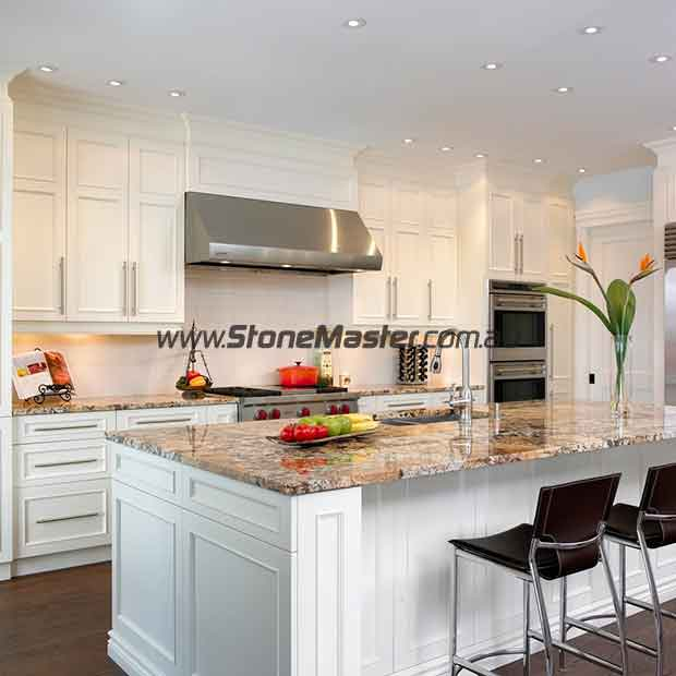 contemporary kitchen granite countertop