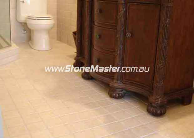 marble floor tiles tumbled botticino with elegant antique furniture